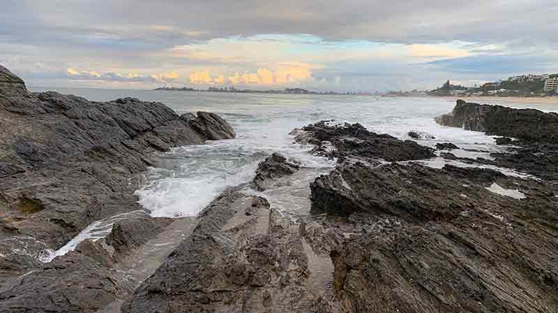 澳洲黄金海岸海滩 Currumbin Creek