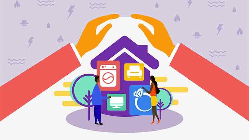 澳洲房产保险之房屋财产保险 Building Content Insurance