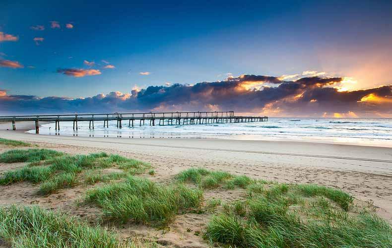 澳洲黄金海岸海滩