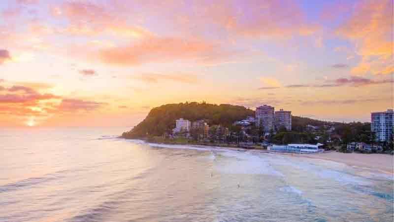 澳洲黄金海岸房产最受欢迎的南部区域之一Coolangatta