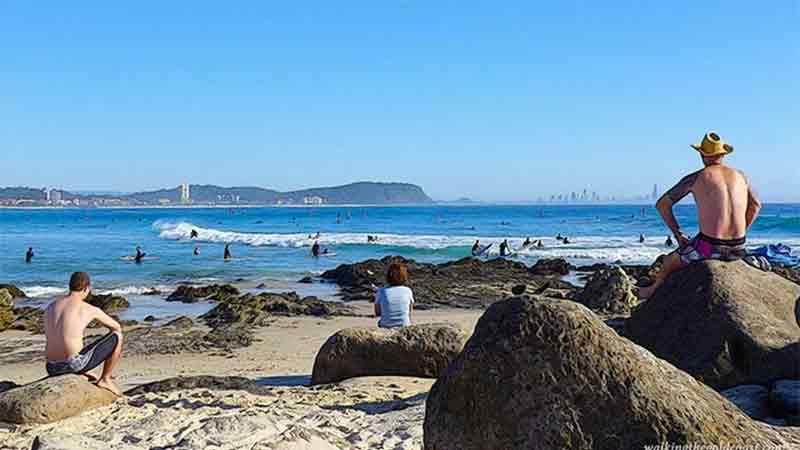 澳洲黄金海岸房产最受欢迎的区域之一Currumbini Beach