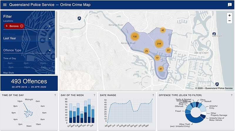 澳洲黄金海岸介绍Benowa-昆州警局犯罪地图