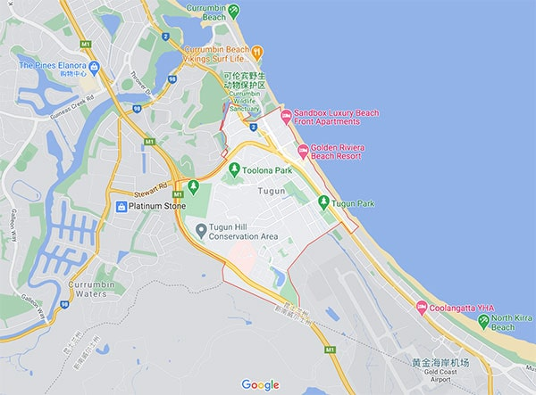 澳洲黄金海岸房价最新消息(Tugun)2020-09
